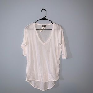 EXPRESS -- Basic White Tee (NEW W TAGS)